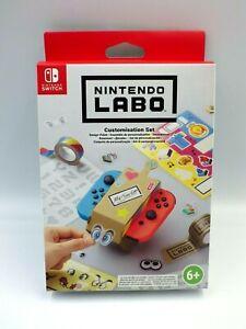 Nintendo Switch Nintendo Labo Customizing Set Toy Con Sticker Schablonen