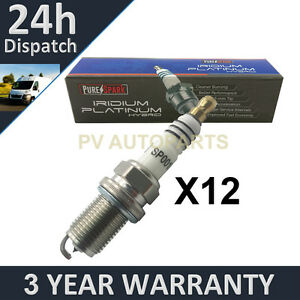 12X IRIDIUM TIP SPARK PLUGS FOR MERCEDES BENZ M-CLASS ML320 1998-2002
