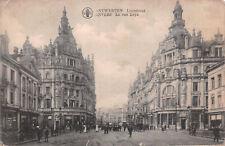 R258231 B. A. Antwerpen. Leysstraat. Anvers. La rue Leys. E. Blomme. 1919