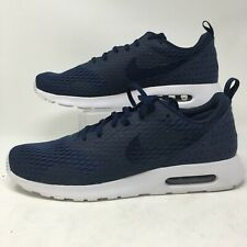 Nike Air Max Tavas Mens Athleic Running Shoes Lace Up Low Top 718895-400 Blue 12