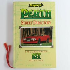 Vintage Gregory's Perth Street Directory, Collectors 1st Edition 1988