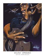 David Garibaldi Movin' Strings Print African American Music Ethnic Poster 24x30