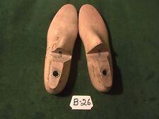 Pair Vintage 1938 Maple Wood Size 8 C BUMPER GEBL Co Shoe Factory  Last #B-26