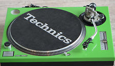 Technics Face Plate Cover for SL-1200/1210 M5G Turntables Green