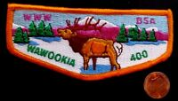 MERGED OA WAWOOKIA LODGE 400 BSA LEWIS-CLARK COUNCIL ID 311 PATCH ELK FLAP COOL