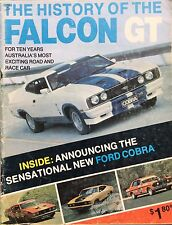 History of the Falcon GT Mag Ford XR XT XW XY XA XB Hardtop Cobra Bathurst HO