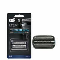 Feuille et Cassette de Coupe pour électrique Rasoir Braun 21b Série 3 Noir FR