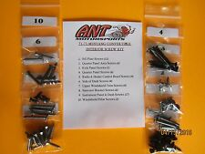New listing 1972 Ford Mustang Convertible Interior Screw Kit 63pcs.