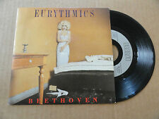 "DISQUE 45T DE  EURYTHMICS   "" BEETHOVEN  """