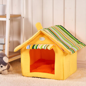 HOT !! Removable Cover Soft Warm Mat Pet House Dog Cat Beds For Medium Size