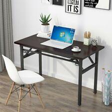 Folding Computer Desk PC Laptop Table Workstation Study Home Office Furniture