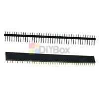 20PCS (Male & Female)40pin Header Socket Row Strip PCB Connector Cool 2.54mm