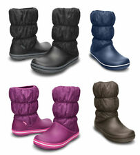 Crocs Flat (less than 0.5') Synthetic Boots for Women