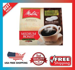 Medium Roast Coffee Pods Senseo Hamilton Beach Brewers 18 Count Pack 6 NEW