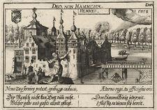 Kasteel Hemmen (Niederlande).- Kupferstich/Meisner Schatzkästlein, 1637-1678