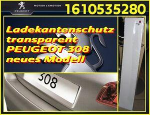 Original Ladekantenschutz transparent für PEUGEOT 308 neues Modell OE 1610535280