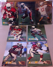 1995 FLEER METAL ARIZONA CARDINALS TEAM SET AENEAS WILLIAMS