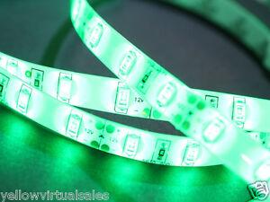 Green LED Waterproof Lighting Kit Outdoor Light Strip Very Bright 5630 Adhesive
