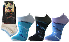 "24 Paar Damen American Sneaker Socken mit Top Design 80 BW /"" portofrei /"" Art 542"
