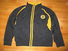 Vintage Logo 7 Label - BOSTON BRUINS Lined (XL) Windbreaker Jacket