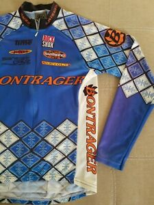 Bontrager Long Sleeve Cyclist Jersey Vintage Size Small