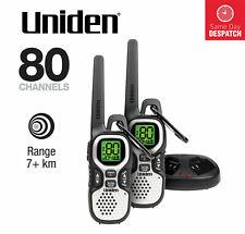 UNIDEN UH510-2 TWIN PACK TOUGH 1 WATT HANDHELD UHF CB RADIO WALKIE TALKIE