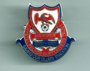 CRYSTAL PALACE FC SUPPORTERS TRUST BADGE - MEMBER