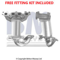 Fit with FORD FIESTA Catalytic Converter Exhaust 91299H 1.6 (Fitting Kit Include