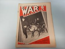 The War Illustrated No. 19 Vol 1 1940 Front Line Finland New Zealand Shipwrights