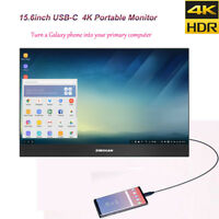"SIBOLAN S19b 15.6"" USB Type-C Portable Monitor 4K 3840×2160 HDR IPS ultra slim"