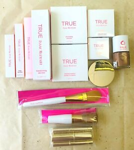 Makeup Joblot of TRUE IAASAC MIZRAHI, Nail polish, Lip Gloss, Powder Foundation.