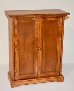 Vintage American Girl Doll Wooden Armoire