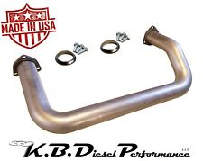 "2.5"" Crossover Tube 6.5l Chevy GMC Turbo Diesel 1992-2002 W/ Hardware & Gaskets"