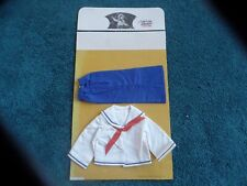 "Shirley Temple ""Captain January' costume 1974 Idea Toy Corp New Blue Sailor Suit"