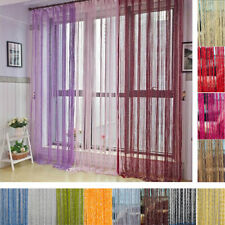 Room Divider Beads Curtain Doorway Blinds Strip Tassel String Wall Door Hanging