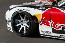 FRP ROCKET BUNNY WIDE AERO STYLE FRONT FENDER FLARES FOR MAZDA RX7 FD3S