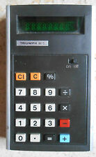 Vintage TRIUMPH 80C calcolatrice calculator calculatrice not working replacement