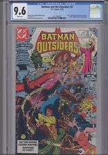 Batman and the Outsiders #5 CGC 9.6 DC 1983 George Perez Comic : NEW FRAME