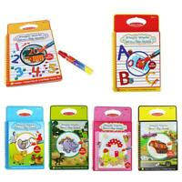 Magic Water Drawing Book with Pen Colourful Educational Painting For Kids Childs