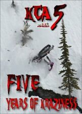 Krazy Canadian Adventures 5 DVD Crazy Snowmobile Video Movie Extreme Sports