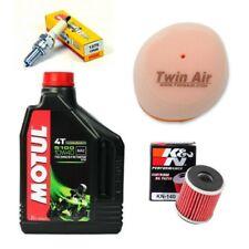Motul oil, NGK spark plug & Twin Air filter service kit Yamaha YZ450F 2003-2009