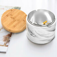 Windproof Ashtray with Lid Outdoor Ashtray for Cigarettes Gift for Smoker