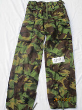 TROUSERS Combat TROPICALE Jungle DPM,anni 80 PANTALONI tropicali,TGL