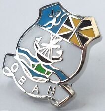 Oban Town Crest Small Pin Badge