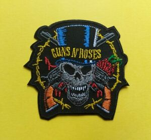Guns N' Roses Patch Sew / Iron On Music Embroidered Badge (b)
