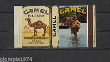 Original Vintage Complete Matchbox Label Camel Trophy 1
