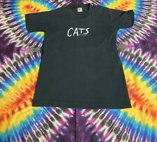 Rare Vintage 1981 Cats Promotional Graphic Single Stitch T-Shirt - Size 14-16