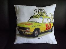 Mavic Service des courses peugeot 404 cycling cushion cover