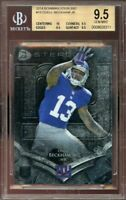 2014 bowman sterling #18 ODELL BECKHAM giants rookie BGS 9.5 (10 9.5 9.5 9.5)