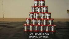 20 x 500g PIOMBO Idraulici saldatura 3,2 mm impianto Idraulico / rame tubo / tubo / endfeed / NUOVO